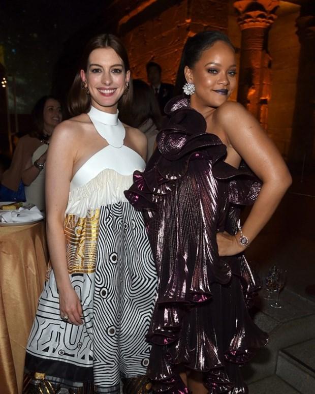 Rihanna sang chanh tuyet doi tren tham do ra mat phim Ocean's 8 hinh anh 6