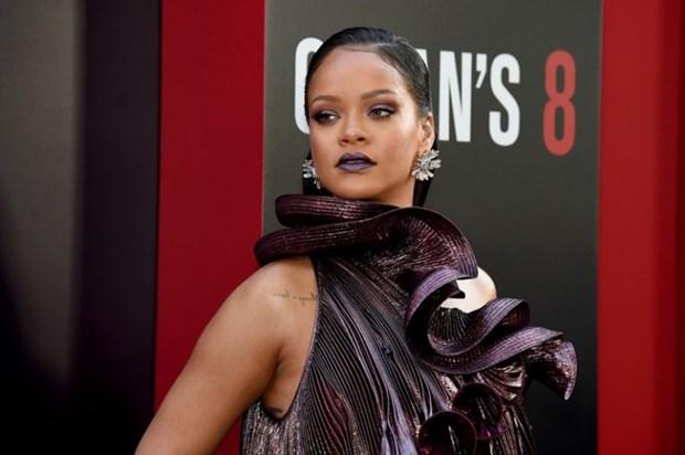 Rihanna sang chanh tuyet doi tren tham do ra mat phim Ocean's 8 hinh anh 3