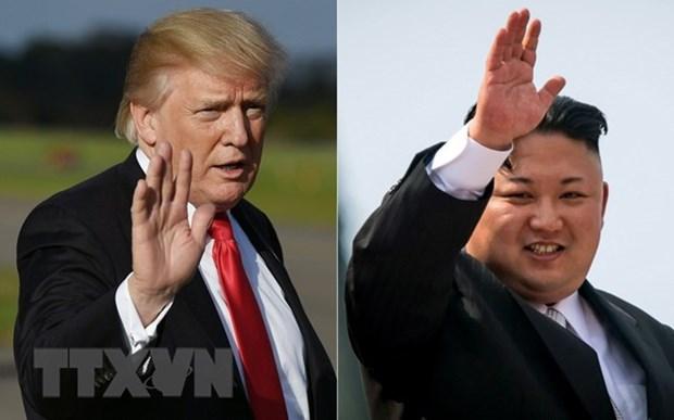 Bloomberg: Tong thong My co the gap ong Kim Jong-un lan 2 o Florida hinh anh 1
