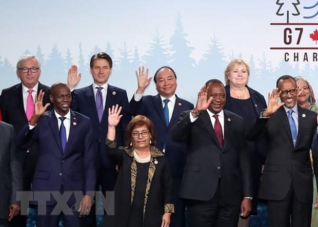 G7 danh gia cao vai tro, uy tin va vi the quoc te cua Viet Nam hinh anh 1
