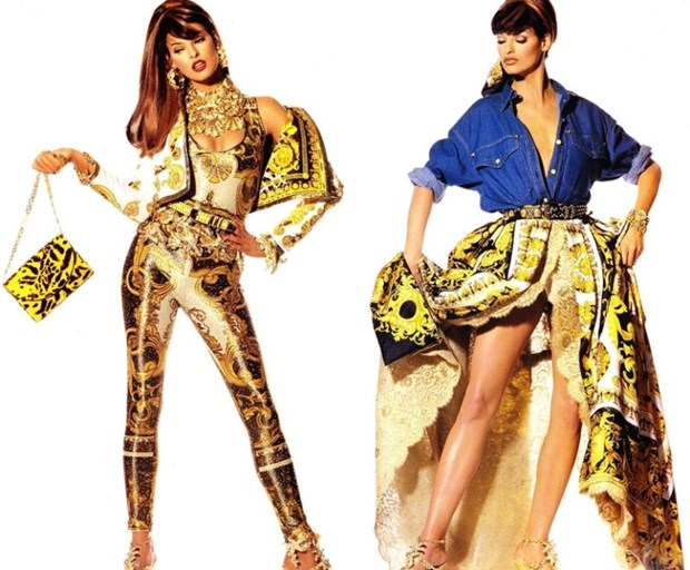 J. Lopez, Hoang Thuy Linh toa sac kieu ky voi thiet ke cua Versace hinh anh 19