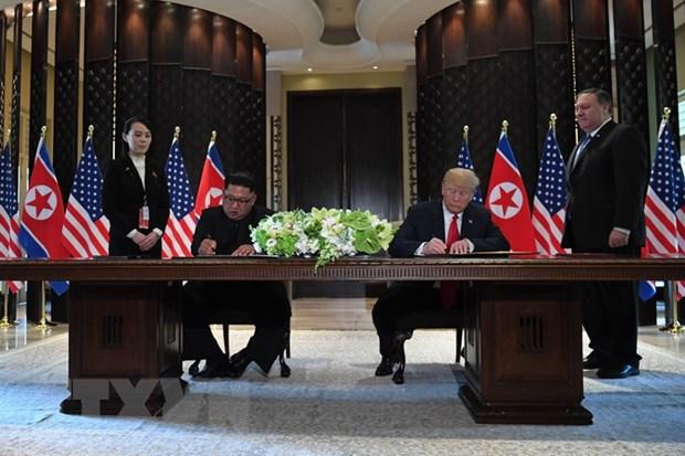 Tong thong Trump cho nha lanh dao Trieu Tien so dien thoai truc tiep hinh anh 1