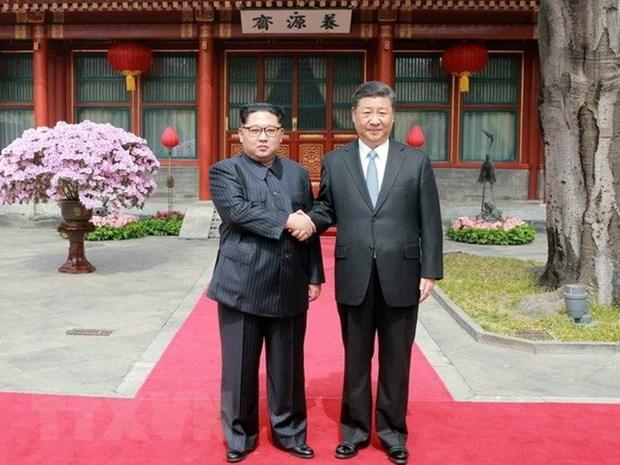 THX: Nha lanh dao Trieu Tien Kim Jong-un se tham Trung Quoc hinh anh 1