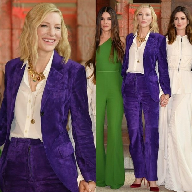 "Dien vien Cate Blanchett - ""Ba hoang"" cua nhung bo suit thoi thuong hinh anh 5"