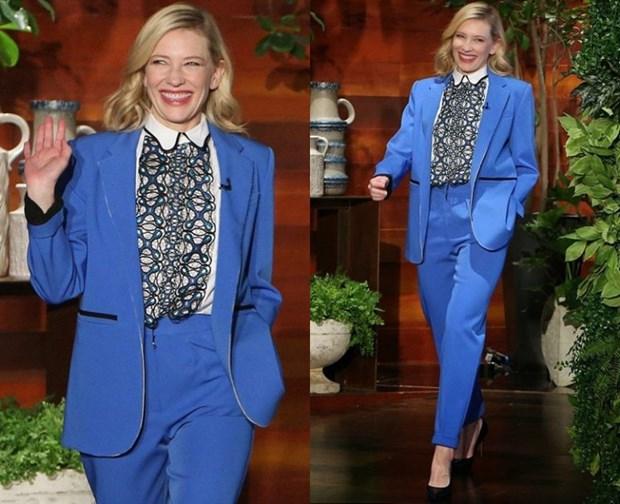 "Dien vien Cate Blanchett - ""Ba hoang"" cua nhung bo suit thoi thuong hinh anh 18"