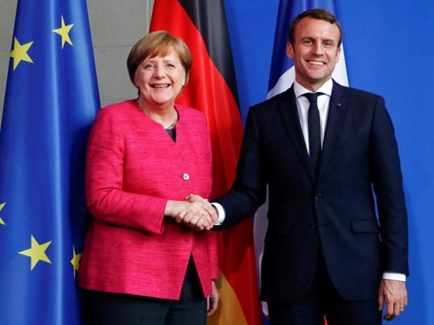 Duc va Phap nhat tri thiet lap ngan sach chung cua Eurozone hinh anh 1