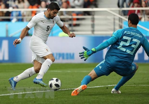Sat thu Luis Suarez muon ghi dau an trong lan thu 100 khoac ao Uruguay hinh anh 1