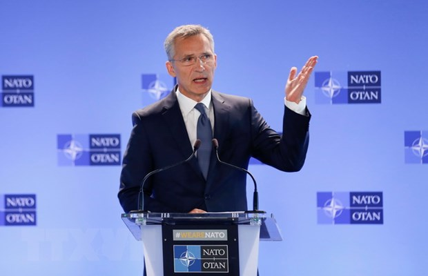 Tong thu ky NATO tin tuong vao moi quan he giua chau Au va My hinh anh 1