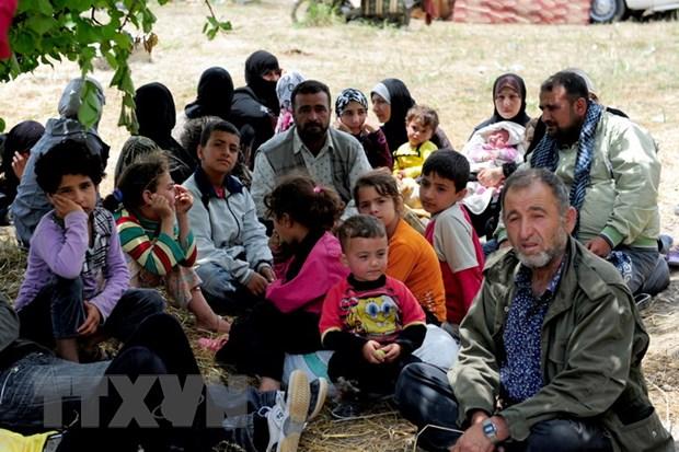 SOHR: Hon 12.000 nguoi bo chay khoi cac tinh mien Nam Syria hinh anh 1