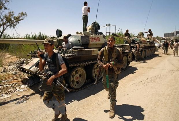Libya: Luc luong cua tuong Haftar tai chiem cac cang dau hinh anh 1