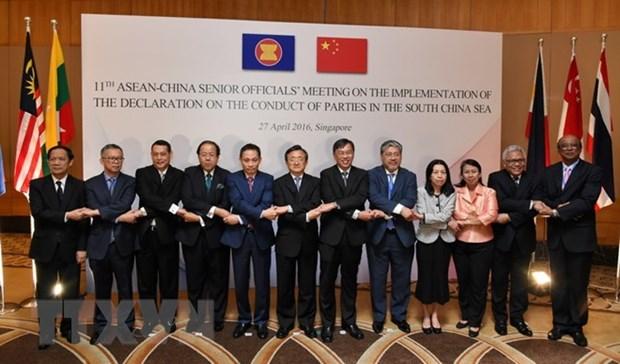 THX: ASEAN-Trung Quoc chuan bi thao luan ve Bien Dong hinh anh 1
