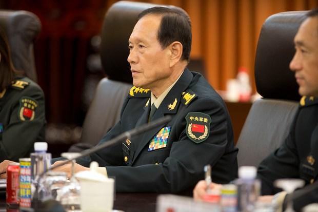 Bo truong Quoc phong Trung Quoc Nguy Phung Hoa nhan loi moi tham My hinh anh 1