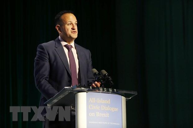 Ireland khang dinh EU dong y keo dai bien phap trung phat chong Nga hinh anh 1