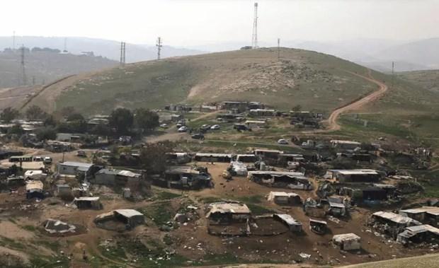 Israel dung ke hoach pha huy ngoi lang cua nguoi Bedouin o Bo Tay hinh anh 1
