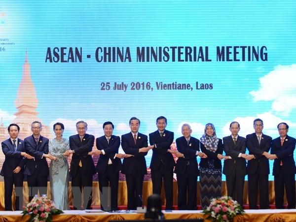 ASEAN va Trung Quoc nhat tri van ban duy nhat ve dam phan COC hinh anh 1