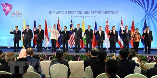 AMM 51: ASEAN tang cuong suc manh kinh te noi khoi, lien ket khu vuc hinh anh 1