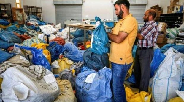 Israel trao tra cho Palestine 10 tan buu pham sau 8 nam bi giu hinh anh 1
