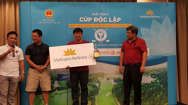 Cup Doc lap - Giai golf ket noi cong dong nguoi Viet Nam tai Thai Lan hinh anh 1