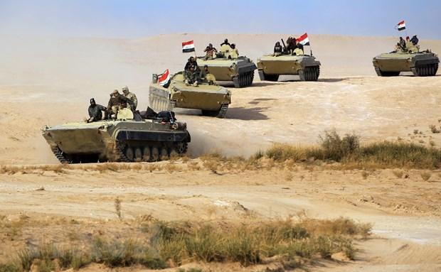 Quan doi Iraq tan cong noi an nau cua IS, tieu diet nhieu phien quan hinh anh 1