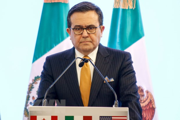 Bo truong Kinh te Mexico than trong ve ket qua dam phan NAFTA hinh anh 1