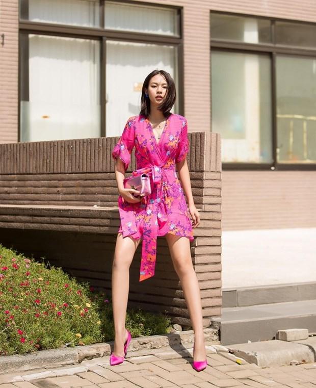 "Nhung diem sang trong ""ban tin"" street style cua my nhan Viet hinh anh 7"