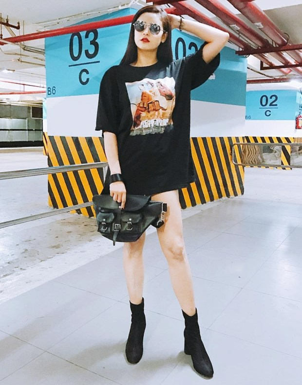 "Nhung diem sang trong ""ban tin"" street style cua my nhan Viet hinh anh 8"