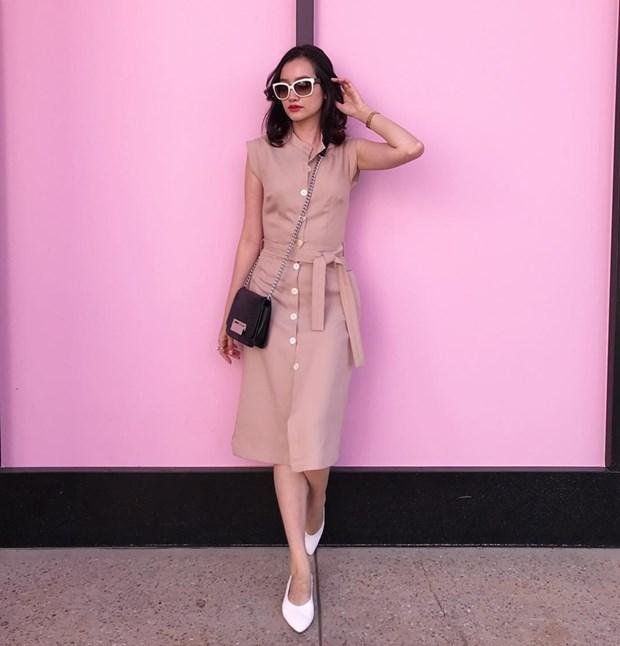 "Nhung diem sang trong ""ban tin"" street style cua my nhan Viet hinh anh 18"