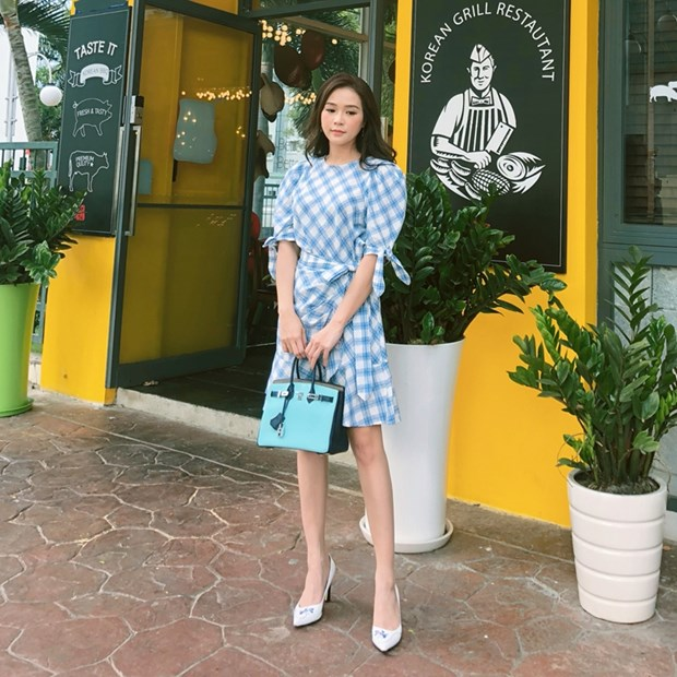 "Nhung diem sang trong ""ban tin"" street style cua my nhan Viet hinh anh 20"