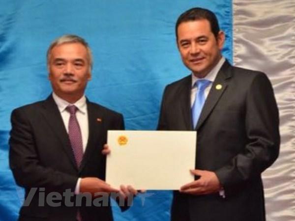 Guatemala danh gia cao vai tro ngay cang noi bat cua Viet Nam hinh anh 1