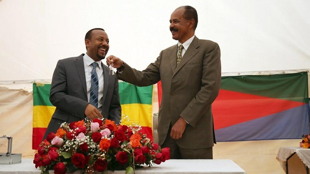 Eritrea da mo lai Dai su quan Ethiopia tai thu do Asmara hinh anh 1