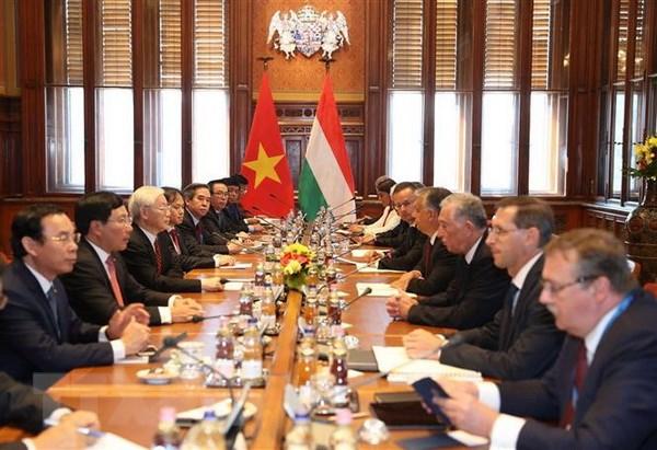 Hungary coi Viet Nam la doi tac quan trong hang dau tai Dong Nam A hinh anh 1