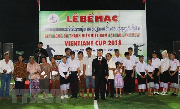 Be mac Giai bong da Thanh nien Viet Nam tai Lao lan thu nam hinh anh 2