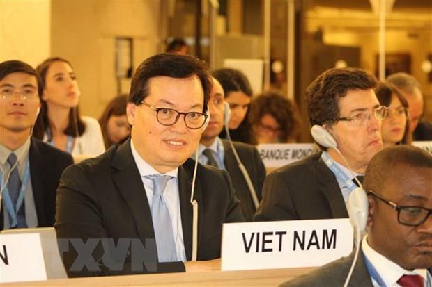 Viet Nam dong gop tich cuc cho Hoi nghi Bo truong Phap ngu lan 35 hinh anh 1