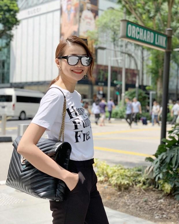 Thanh Hang, Ha Tang va dan my nhan ghi diem voi street style an tuong hinh anh 3