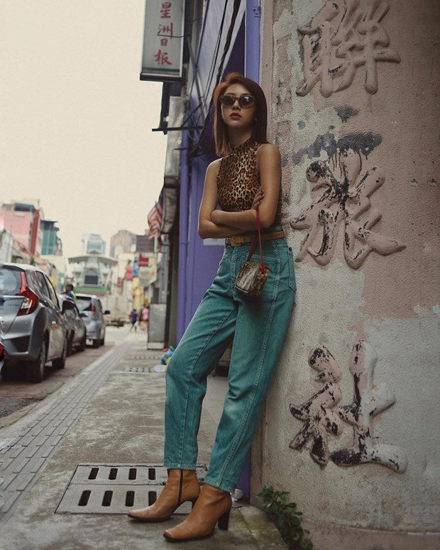 Thanh Hang, Ha Tang va dan my nhan ghi diem voi street style an tuong hinh anh 8