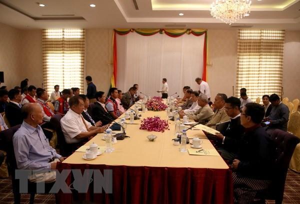Myanmar: Cac ben tham gia hoa dam dat duoc su dong thuan hinh anh 1