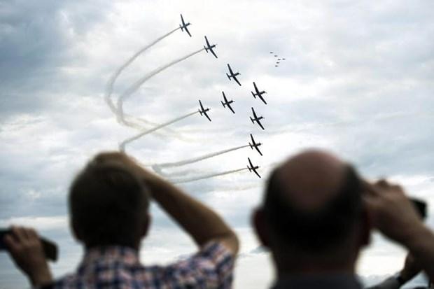 May bay chien dau F-5 cua Tunisia bi roi trong qua trinh huan luyen hinh anh 1