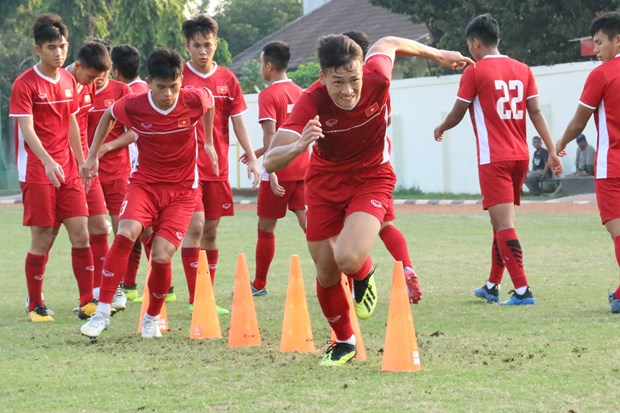 U19 Viet Nam tich cuc tap luyen, quyet tam