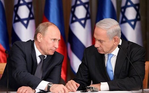 Lanh dao Israel-Nga gap nhau lan dau ke tu vu ban roi may bay hinh anh 1