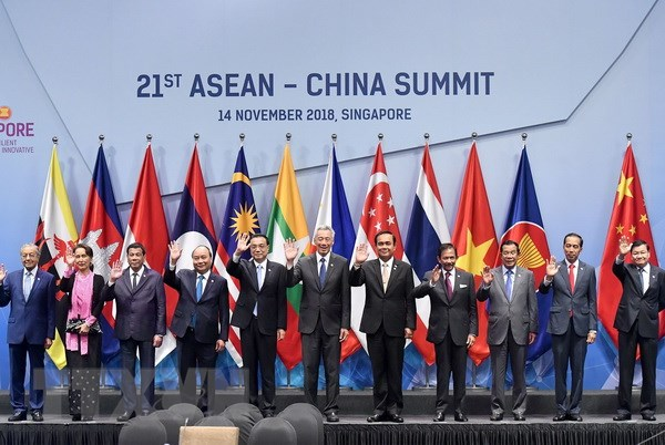 Trung Quoc-ASEAN cam ket thuc day dam phan de tranh dung do Bien Dong hinh anh 1