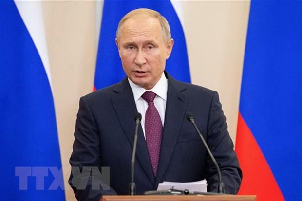 Tong thong Vladimir Putin du hoi nghi thuong dinh Nga-ASEAN hinh anh 1