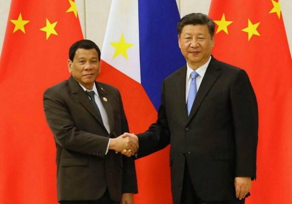 Chu tich Trung Quoc keu goi Philippines tang doi thoai ve Bien Dong hinh anh 1