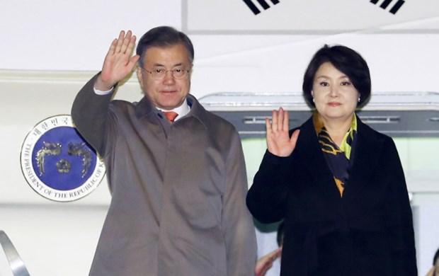Tong thong Han Quoc Moon Jae-in bat dau chuyen tham Cong hoa Sec hinh anh 1