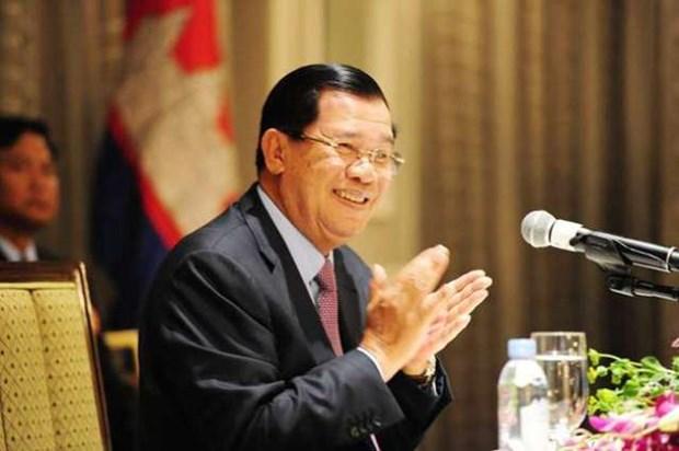Thu tuong Campuchia tham Nepal 4 ngay nham tang cuong quan he hinh anh 1