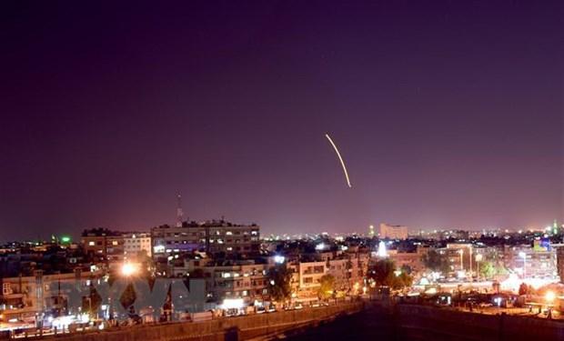 Syria danh chan thanh cong ten lua nghi do Israel ban hinh anh 1