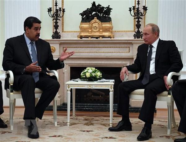 Nga va Venezuela tang cuong quan he doi tac chien luoc hinh anh 1