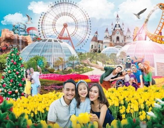 Festive Wonderland - Le hoi than tien tai xu so Vinpearl Land hinh anh 1