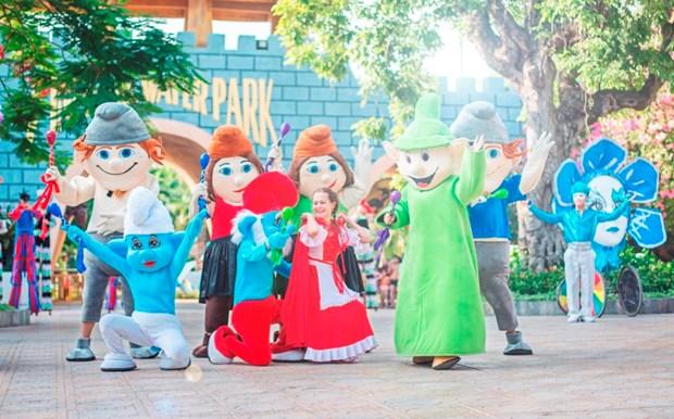 Festive Wonderland - Le hoi than tien tai xu so Vinpearl Land hinh anh 3