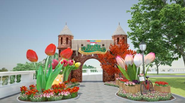 Festive Wonderland - Le hoi than tien tai xu so Vinpearl Land hinh anh 5