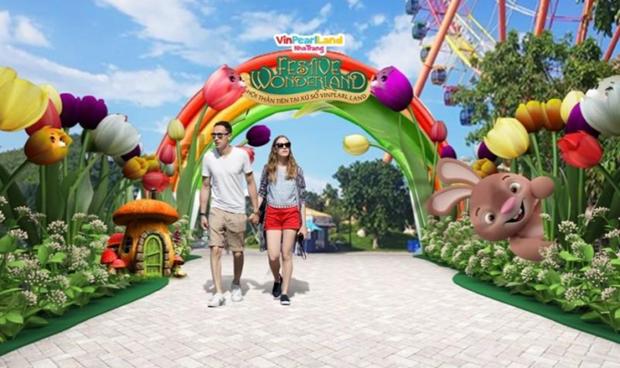 Festive Wonderland - Le hoi than tien tai xu so Vinpearl Land hinh anh 4